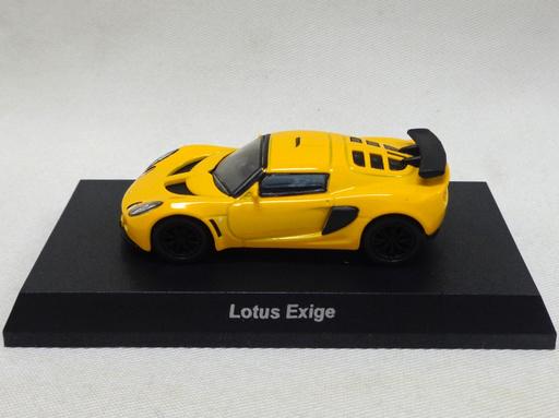 【中古】ミニカー 1/64 Lotus Exige(イエロー) 「ロータス ミニカーコレクション」 サークルK・サンクス限定