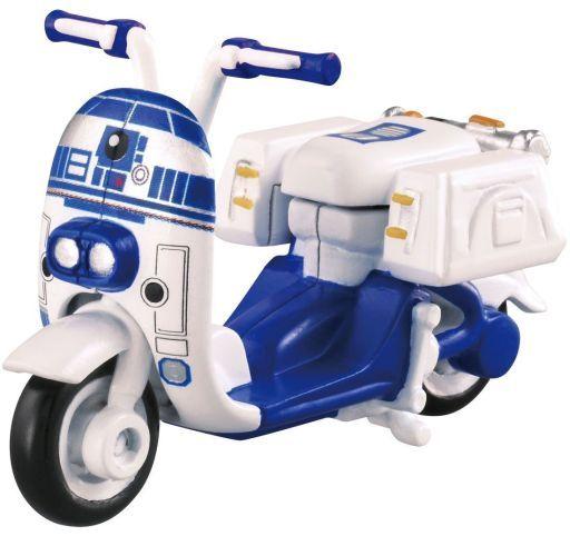 【中古】ミニカー R2-D2 スクーター 「トミカ スター・ウォーズ スター・カーズ SC-05」