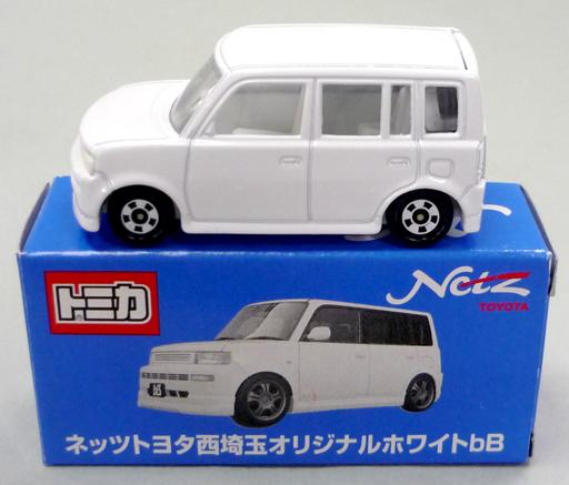 【中古】ミニカー 1/60 トヨタ bB(ホワイト) 「トミカ」 ネッツトヨタ西埼玉オリジナル