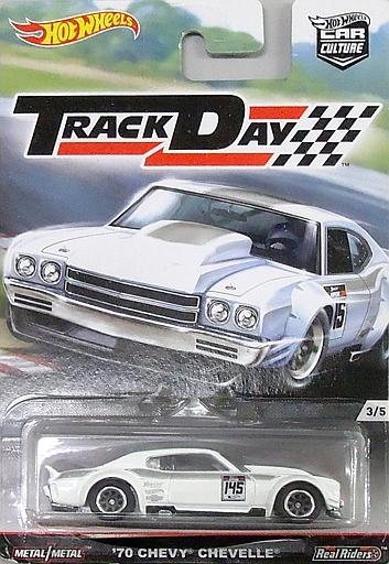 【中古】ミニカー 1/64 70 CHEVY CHEVELLE 「Hot Wheels カーカルチャー TRACK DAY」 [DJF95-L510 4LB]