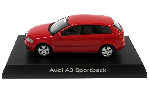 【中古】ミニカー 1/64 Audi A3 Sportback(レッド) 「アウディ ミニカーコレクション2」 サークルK・サンクス限定