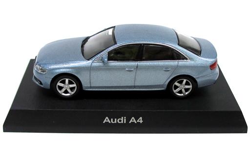【中古】ミニカー 1/64 Audi A4(ライトブルー) 「アウディ ミニカーコレクション2」 サークルK・サンクス限定