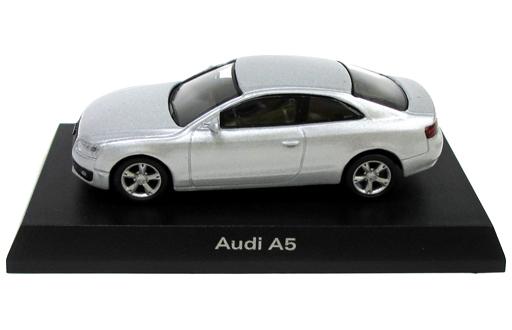 【中古】ミニカー 1/64 Audi A5(シルバー) 「アウディ ミニカーコレクション2」 サークルK・サンクス限定