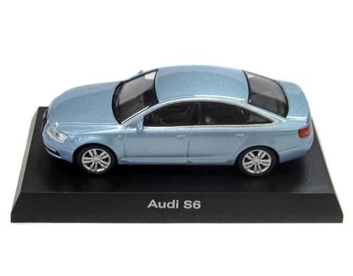 【中古】ミニカー 1/64 Audi S6(ライトブルー) 「アウディ ミニカーコレクション2」 サークルK・サンクス限定