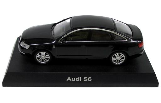 【中古】ミニカー 1/64 Audi S6(ブラック) 「アウディ ミニカーコレクション2」 サークルK・サンクス限定