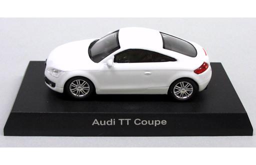 【中古】ミニカー 1/64 Audi TT Coupe(ホワイト) 「アウディ ミニカーコレクション2」 サークルK・サンクス限定