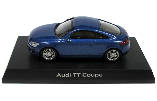 【中古】ミニカー 1/64 Audi TT Coupe(ブルー) 「アウディ ミニカーコレクション2」 サークルK・サンクス限定