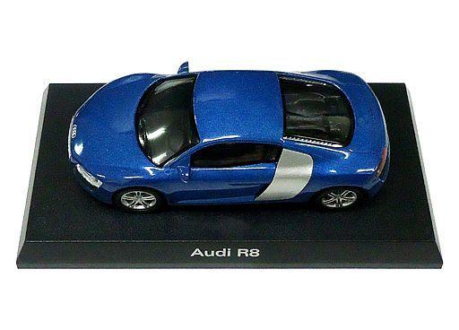 【中古】ミニカー 1/64 Audi R8(ブルー) 「アウディ ミニカーコレクション2」 サークルK・サンクス限定