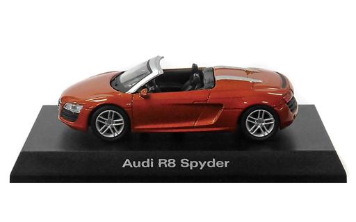 【中古】ミニカー 1/64 Audi R8 Spyder(ゴールド) 「アウディ ミニカーコレクション2」 サークルK・サンクス限定
