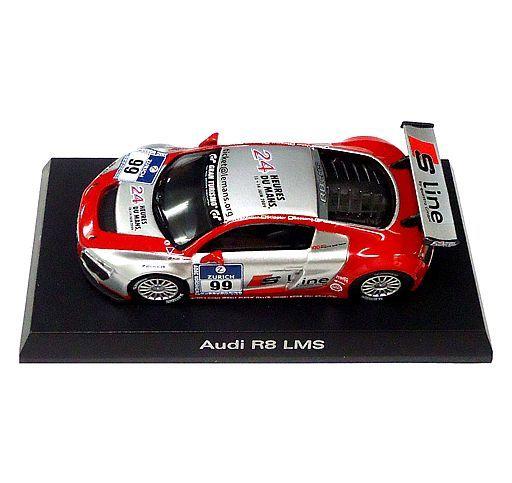 【中古】ミニカー 1/64 Audi R8 LMS #99(レッド×シルバー) 「アウディ ミニカーコレクション2」 サークルK・サンクス限定