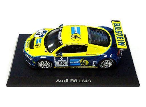 【中古】ミニカー 1/64 Audi R8 LMS #98(イエロー×ブルー) 「アウディ ミニカーコレクション2」 サークルK・サンクス限定