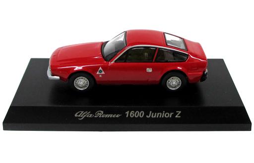 【中古】ミニカー 1/64 Alfa Romeo 1600 Junior Z(レッド) 「アルファロメオ ミニカーコレクション4」 サークルK・サンクス限定