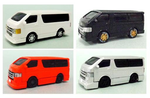 【中古】ミニカー 全4種セット 1/80 「HIACE SUPER GL 極 トヨタ ハイエース 200系 4型」