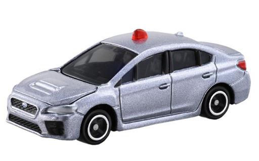 "Subaru WRX S4 masked patrol car (silver) ""Tomica No. 2"""