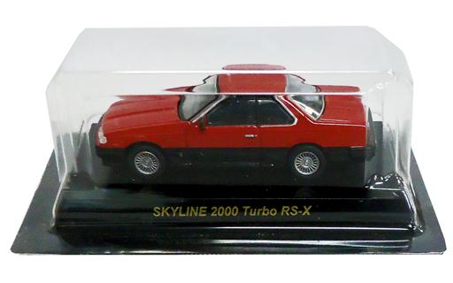 【中古】ミニカー 1/64 NISSAN SKYLINE 2000Turbo RS-X(レッド×ブラック) 「日産スカイラインミニカーコレクション」 サークルK・サンクス限定