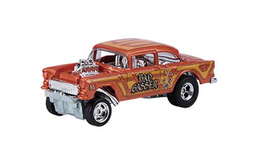 【中古】ミニカー 1/64 '55 CHEVY BEL AIR GASSER 「Hot Wheels カーカルチャー Red Liners」 [DWH84]