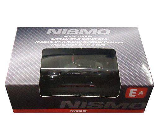 【中古】ミニカー 1/64 NISSAN GT-R NISMO GT3(ブラック) 「KYOSHO ミニカーくじ 第2弾」 E賞 サークルKサンクス限定