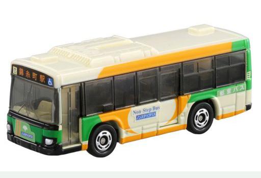 【新品】ミニカー いすゞ エルガ 都営バス(ホワイト×グリーン×イエロー) 「トミカ No.20」