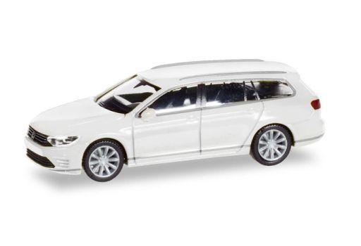 【予約】ミニカー 1/87 VW パサート ヴァリアント GTE E-Hybrid(ホワイト) [HE028981]