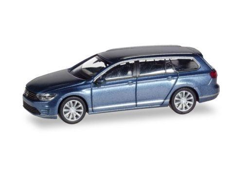 【予約】ミニカー 1/87 VW パサート ヴァリアント GTE E-Hybrid(ブルーメタリック) [HE038980]
