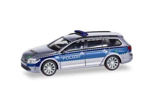 【予約】ミニカー 1/87 VW パサートヴァリアント GTEハンブルク警察 [HE093910]