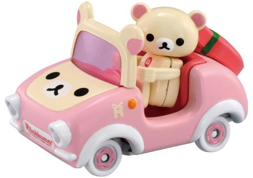 【予約】ミニカー コリラックマ×コリラックマカー(ピンク) 「ドリームトミカ ライドオン R09」