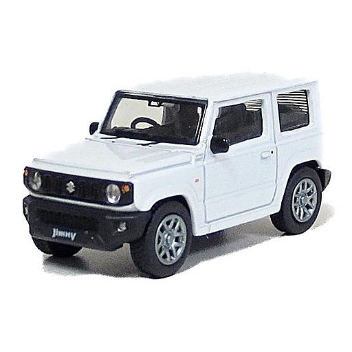 DORLOP(ドアロップ) 新品 ミニカー 1/64 スズキ ジムニー RHD(ピュアホワイトパール) [DLSU-1001FR]