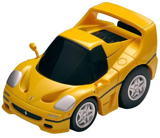 トミーテック 新品 ミニカー チョロQ Z-67b フェラーリF50(黄)クローズド [302544]