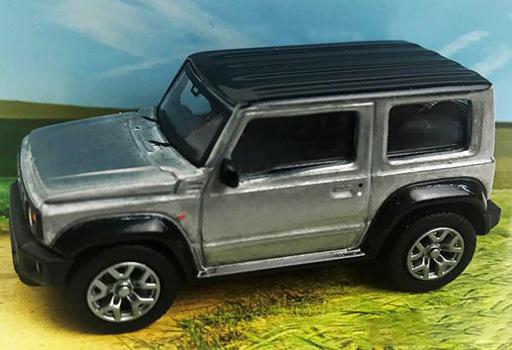DORLOP(ドアロップ) 新品 ミニカー 1/64 スズキ ジムニー シエラ Launch Special Edition セミグロス [DLSU-1001PR]