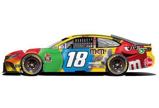 1/64 カイル・ブッシュ M&Ms トヨタ カムリ NASCAR 2020 [C182065MMKB]