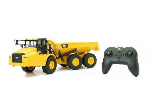 京商 新品 ラジコン ラジコン 1/24 745 Articulated Truck(アーティキュレート トラック:ダンプ) 「RC CAT 建機シリーズ」 2.4GHz仕様 [56625]