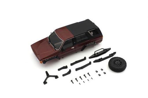 京商 新品 ラジコン ラジコン MX-01 トヨタ 4ランナー ボディセット メタリックレッド MXB02MR