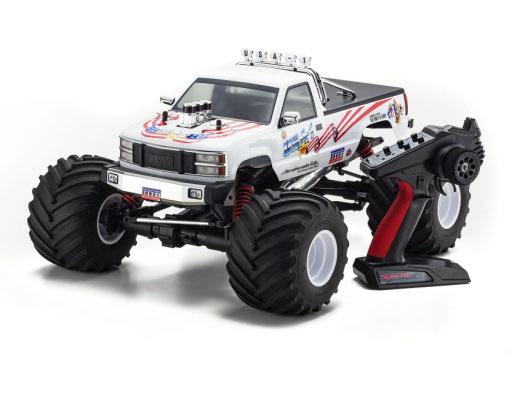 京商 予約 ラジコン 1/8 ラジオコントロール 25エンジン 4WD モンスタートラック USA-1 Nitoro KT-231P+付 レディセット [33155]
