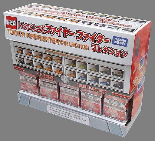 【新品】【ボックス】ミニカー 【ボックス】トミカくじ22 ファイヤーファイターコレクション