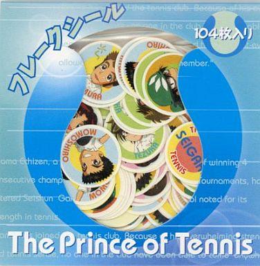 【中古】シール・ステッカー(キャラクター) テニスの王子様 フレークシール(青/104枚入)