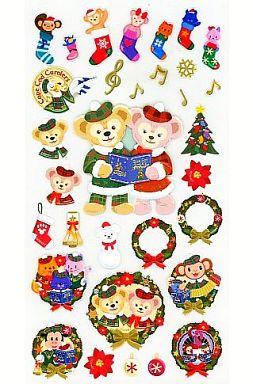 【中古】シール・ステッカー(キャラクター) ダッフィーのクリスマス2012 シール 「ティズニーベア」 東京ディズニーシー限定
