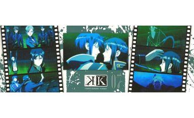 夜刀神狗朗&宗像礼司&他(07/フィルム) 「K ステッカーコレクション」