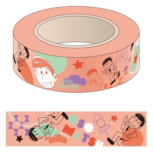【中古】シール・ステッカー(キャラクター) おそ松 マスキングテープ 「おそ松さん」