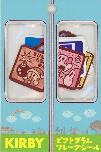 【中古】シール・ステッカー(キャラクター) ピクトグラム フレークシール(18枚入り) 「星のカービィ プププ☆トレイン」
