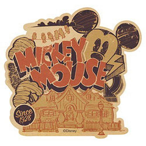 【中古】シール・ステッカー(キャラクター) ミッキーマウス(SINCE1928) トラベルステッカー 「ディズニー」