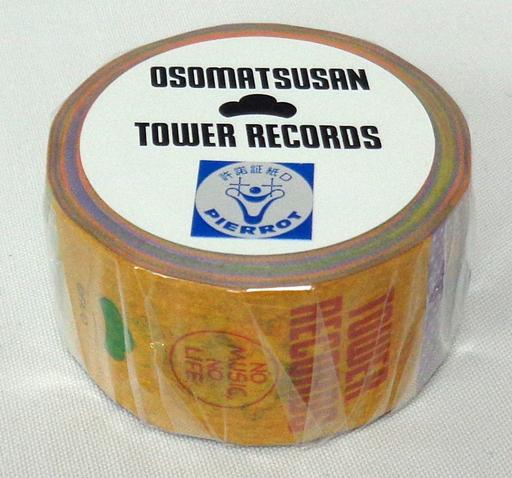 【中古】シール・ステッカー(キャラクター) 6つ子 マスキングテープ 「おそ松さん×TOWER RECORDS」