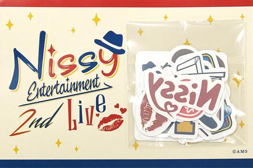 【中古】シール・ステッカー(男性) Nissy(西島隆弘) これつけてLIVEいこいこ!!タトゥーシール 「Nissy Entertainment 2nd LIVE」