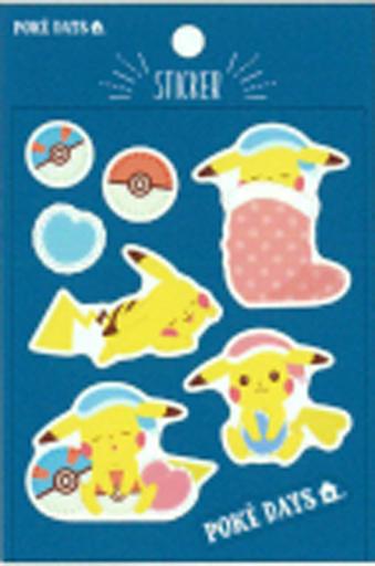 サンスター文具 新品 シール・ステッカー(キャラクター) おやすみ ぷっくりシール POKE DAYS Vol.2 「ポケットモンスター」