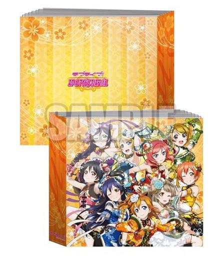"Vol.1 μ's (mini dress bias) Mini colored paper holder ""Love Live!"""