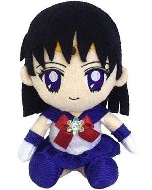 【中古】クッション・抱き枕・本体(キャラクター) セーラーサターン Miniぬいぐるみクッション 「美少女戦士セーラームーン」