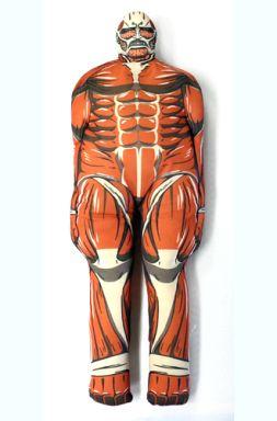 【中古】クッション・抱き枕・本体(キャラクター) 超大型巨人クッション 「進撃の巨人」
