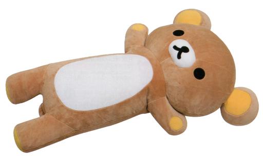 【新品】クッション・抱き枕・本体(キャラクター) リラックマ スーパーもーちもち抱きまくら 「リラックマ」