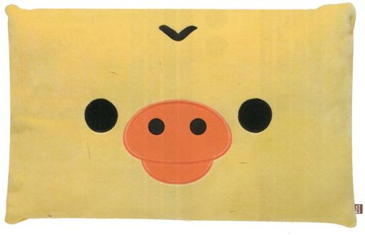 【中古】クッション・抱き枕・本体(キャラクター) キイロイトリ スーパーもーちもち抱きロングクッション 「リラックマ」