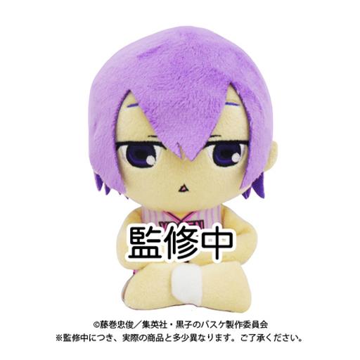 【中古】クッション・抱き枕・本体(キャラクター) 紫原敦 おすわりぬいぐるみクッション 「黒子のバスケ」