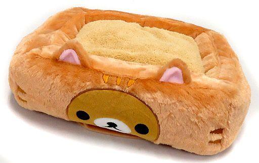 【中古】クッション・抱き枕・本体(キャラクター) リラックマ hoi-hoiクッション のんびりネコテーマ 「リラックマ」
